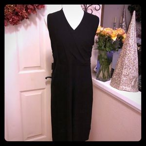 Silk Eileen Fisher Black Sleeveless Gorgeous Dress